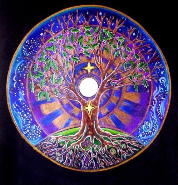 24 декабря  в 19.00 Беседы за чаем «Мандала года»  Время подводить итоги и создавать планы на следующий год