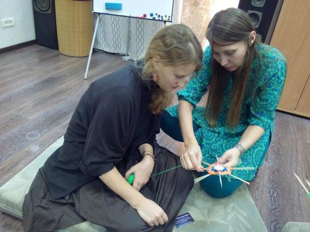 1 октября «Беседы за чаем» Терапевтическое рукоделие для работы со своим запросом. Плетение мандал.